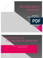 50038761 the One Minute Manager