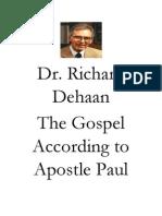 Dr Richard Dehaan