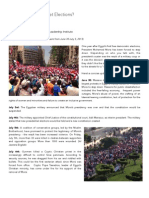 Military Coup or Street Elections - Egypt's Crisis 2013