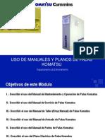 Uso de Manuales y Planos de Palas Komatsu