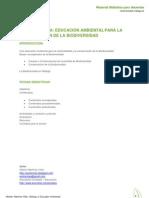 Biodiversidad y educación ambiental