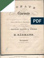 Baermann Sonata