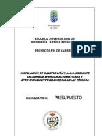 Documento III Presupuesto