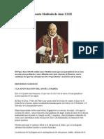 Rosario Meditado de Juan XXIII