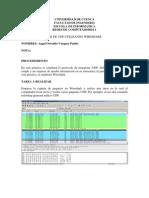 Análisis de UDP utilizando Wireshark