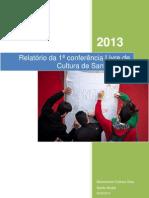 Relatório Conf.Livre Cultura Sto.André