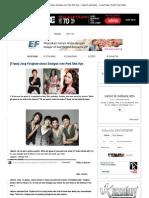 [Trans] Jung Yonghwa Chose Seohyun Over Park Shin Hye ~ Latest K-Pop News - K-Pop News _ Daily K Pop News