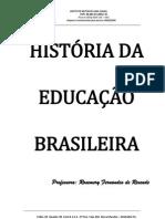 apostila de história da educação do brasil