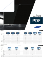 Samsung Smarttv Brochure Range 2012