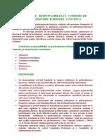 Atributiile Responsabilului Comisiei de Perfectionare