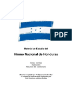 Cuestionario Himno Honduras