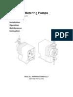 Pulsatron Installation and Operating Manual (a+, C, C+, E, E-DC, E+ and HV)