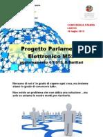 Diapositive Presentazione Parlamento Elettronico M5S
