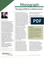 ImpactofPPACA Liability Insurance