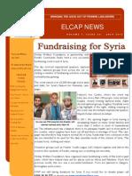 ELCAP E-Newsletter Issue 24 - July 2013