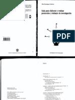 Dominguez y Sanchez Guia Para Elaborar y Evaluar Proyectos