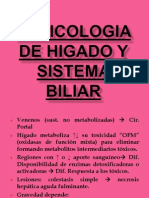 Toxicologia de Higado y Sistema Biliar