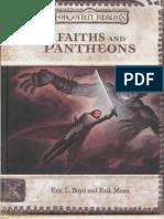 Faiths and Pantheons