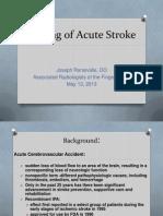 Basic Stroke Imaging