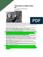 11 datos curiosos que no sabías sobre Albert Einstein