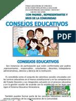Presentacion Consejos Educativos - Socializacion