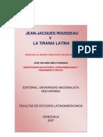 JEAN JACQUES ROUSSEAU  Y LA  TIRANÍA  LATINA