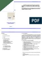 Manual Alarma p99092