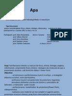 Apa Proiect Interdisciplinar