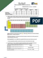Primera Evaluacion QG1 IT 2013