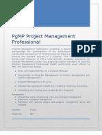 PgMP  contents doc