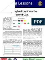 Why England Can't Win the World Cup