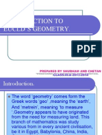INTRODUCTION TO EUCLD'S GEOMETRY.ppt