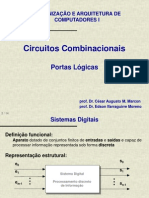 b - Introducao a Circuitos Combinacionais (Portas Logicas)