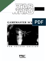 Star Wars D6 - Gamemaster Screen