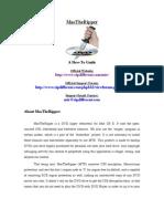 MacTheRipper Manual