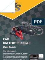 AutoXS CPL-2054 Car Battery Charger User Manual