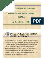 Microsoft PowerPoint - PRECIPITACION_ MEDIA de UNA CUENCA Curso Hidrologia 4 Agricola