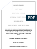 The Final Passage Term Paper