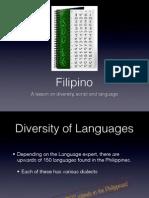 Filipino Language Presentation