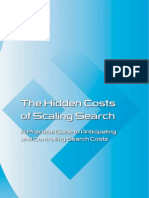 Hidden Costs of Scaling Search Whitepaper English