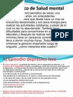 Caso Clinico de Salud Mental