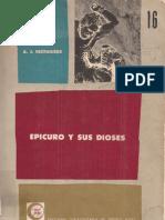 Festugière, André-Jean - Epicuro y sus dioses [1946]