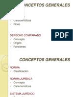 2. Conceptos Generales. Derecho