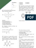 AVALIAÇÃO BIMESTRAL DE QUÍMICA notuno 3º - 2º bim