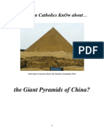Do Roman Catholics KnOw About  the Great  Pyramids of China?