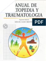 Manual de Ortopedia y Traumatologia