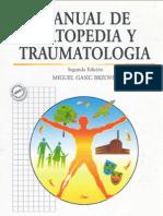 Manual de Ortopedia y Traumatologia
