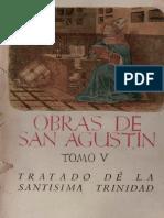 San Agustín - De Trinitate [BAC]