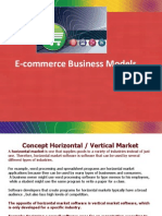 B2B ,Business Models in Emerging _E-Commerce Areas_web Enablers