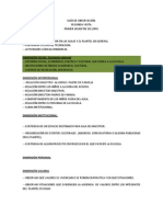 GUÍA DE OBSERVACIÓN. PRIMER SEMESTRE
